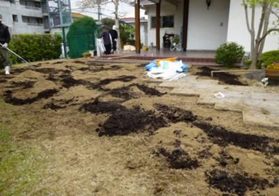 宮原福樹園・土壌改良