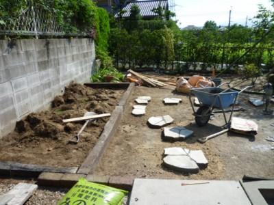 筑紫野市ガーデンリフォーム工事06
