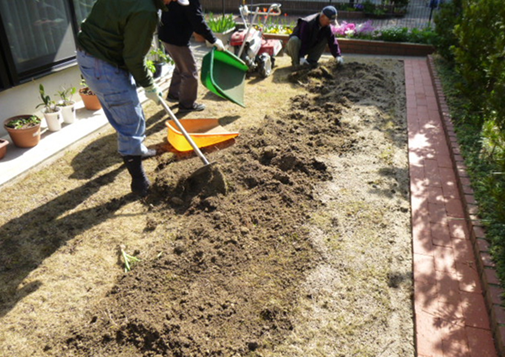 お庭造りや生垣などの庭木の植栽のご相談からお引渡しの流れ
